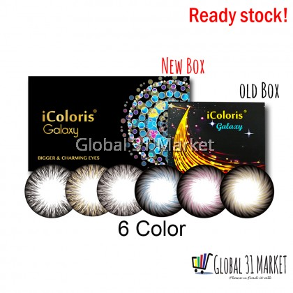 Bionics iColoris Galaxy Series , Monthly Color Contact Lens , 14.5mm 14.2mm