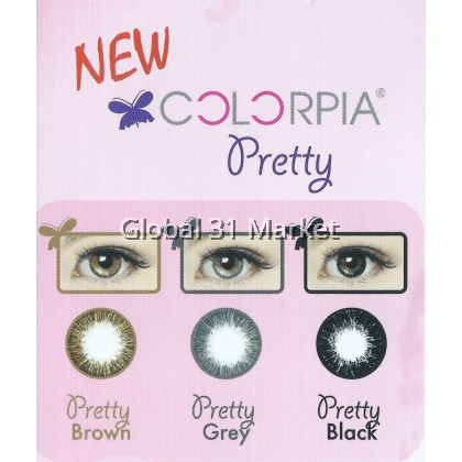 Colorpia Pretty Series 3 Months disposable 14.5mm 0.00 to -9.00 Power