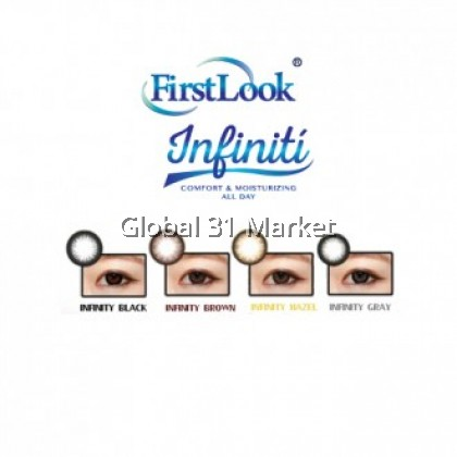 Firstlook Infiniti 3 Months Circle Lens SIlicone Hydrogel Lens 2 pcs/box Ready stock!
