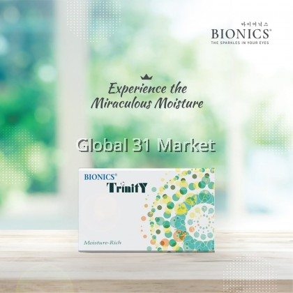 Bionics Trinity Aspheric Contact lens , 6 pieces , Monthly Contact lens